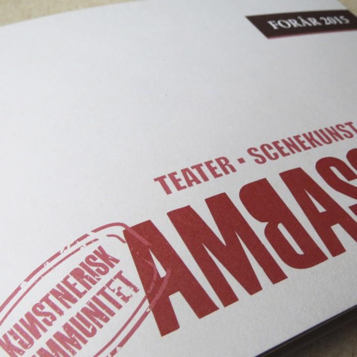 Ambassaden Katalog Close up